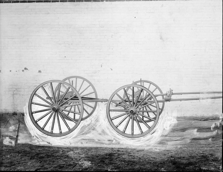 Wagon Frame and Wheels (03148)