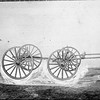 Wagon Frame and Wheels (03148)