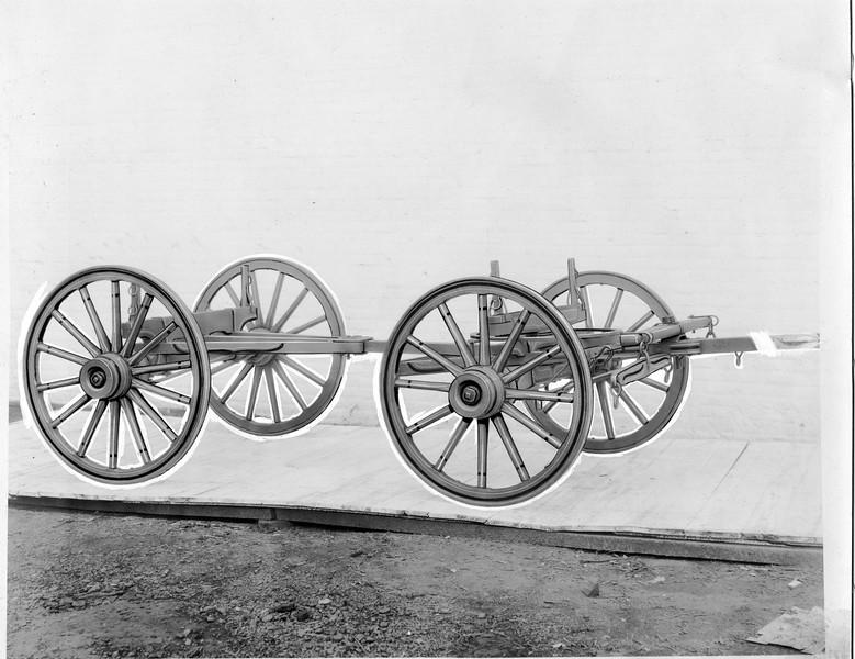 Wagon Frame and Wheels (03147)