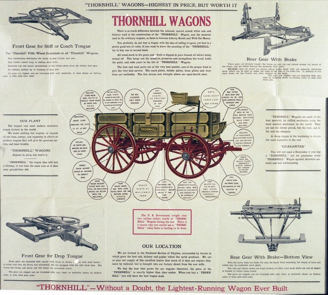Thornhill Wagon Advertisement (03190)