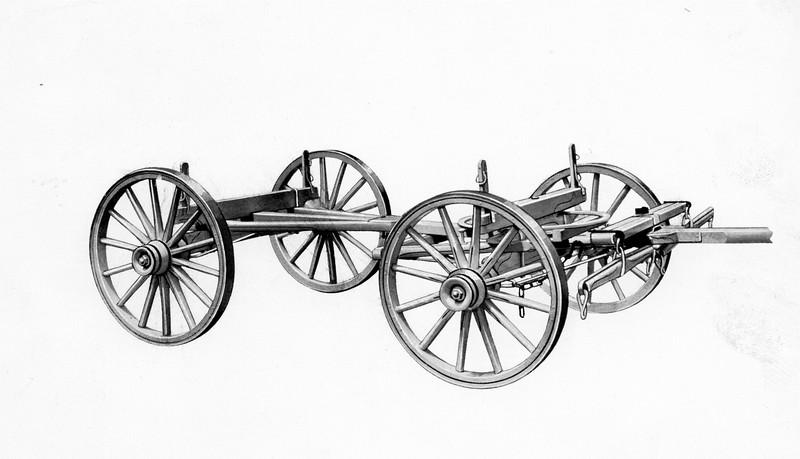 Metal Wagon Chassis (03172)
