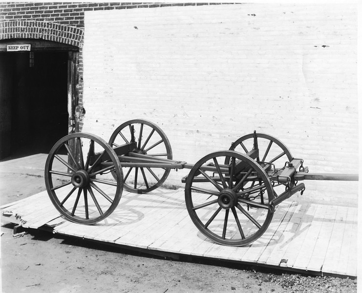 Wagon Frame and Wheels (03146)