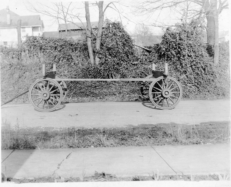 Wagon Frame and Wheels (03154)