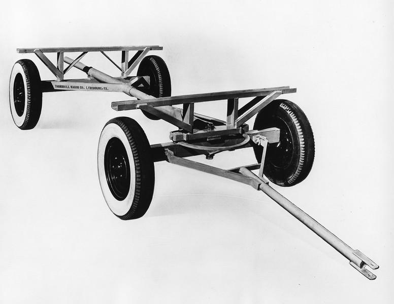Metal Wagon Chassis (01368)