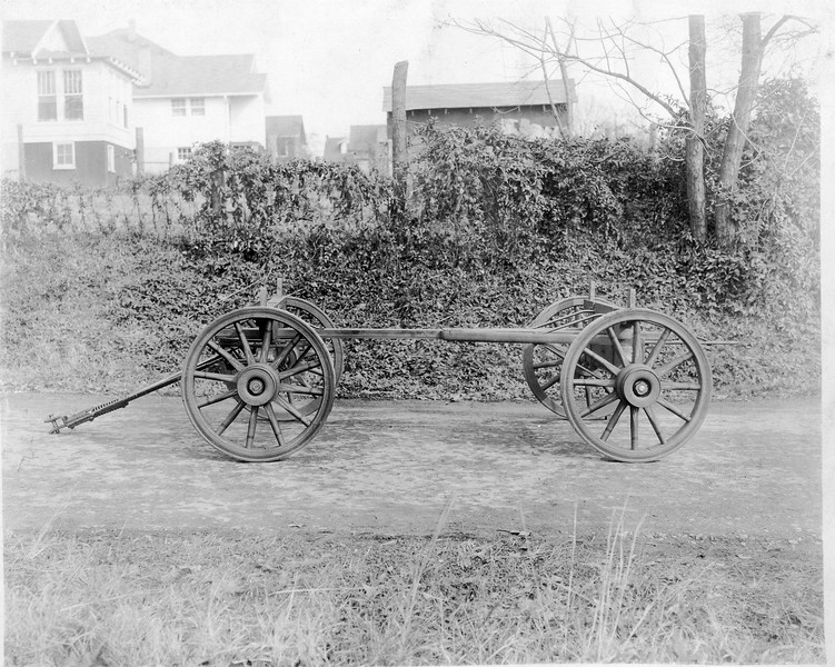 Wagon Frame and Wheels (03153)