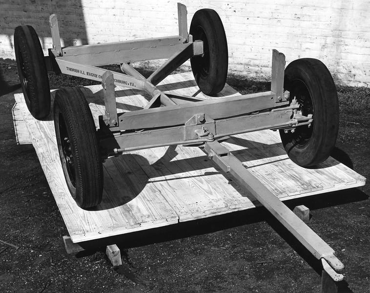 Metal Wagon Chassis (03159)
