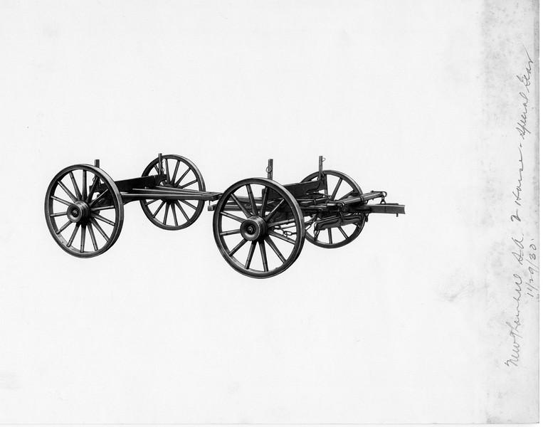 Wagon Wheel and Frame (03175)