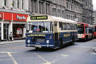 Stagecoach Busways 1821 Grainger Street Newcastle July 95