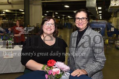 Left - right: Cassandra Kokoski, and Karen Sue Owens both of Lifesteps.