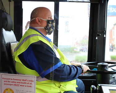 Butler port authority bus driver Gary Brill. Seb Foltz/Butler Eagle