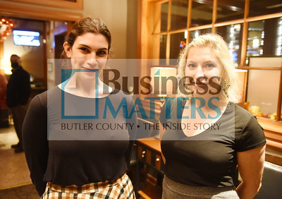 From left, Julie Mangurten, American Natural; Monica Guercio Your CBD Store Shaler;