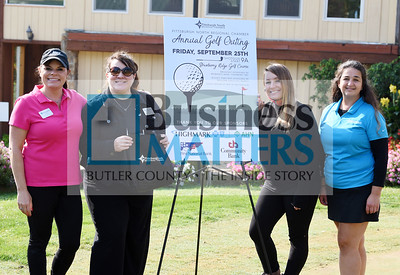 From left, Tracy Armstrong, Beth Machine, Annie Cairns and Heather Schwatzbauer, all of the Northern Regional Chamber
