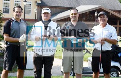 From left, Lance Diyanni, Ed Lantz, Steve Diffenderfer and Jeff Yanuzzi, all of Community Bank