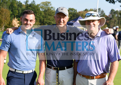 From left, Mike Yavorsky, Mon Valley Country Club; Steve Kusenko, Mon Valley Country Club; Dennis Munko, PA Golf Academy.