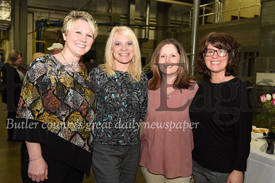 Left - right: Beth Wichrowdki, Concordia Lutheran Ministries; Michelle Bable, Wigton Eye Care; Julie Ryan, Concordia Lutheran Ministries; and SaraBeth Swain, Concordia Lutheran Ministries.