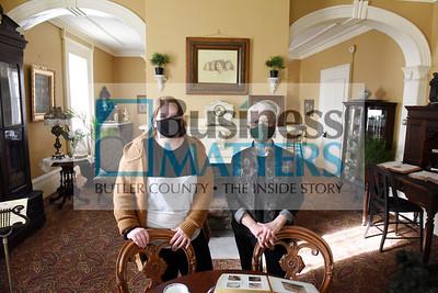 Sara Donaldson, left, and Jennifer Ford, Butler Historical Society Harold Aughton/Butler Eagle