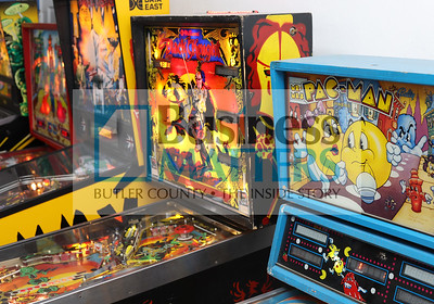 Vintage pinball machines at Tokens Arcade in Lyndora.Seb Foltz/Butler Eagle 01/29/21