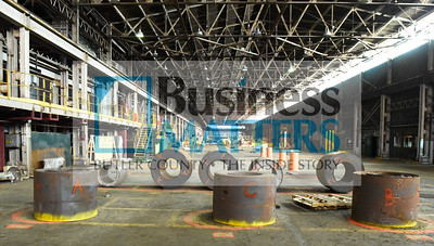 CERTA Management LLC of Cincinnati Ohio, has acquired the former AK Steel stainless processing plant and the Bantam Jeep Factory from Cleveland Cliffs. A contingency of Butler County representatives toured the facility with the new owner's, brothers Jake and Kris Bamberger, Friday morning November 20, 2020.  Harold Aughton/Butler Eagle