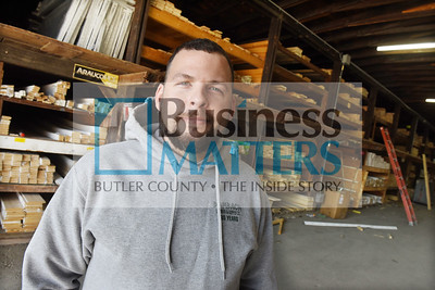 Alex Magill, manager of Dambach Lumber & Supply, Harmony. Harold Aughton/Butler Eagle.