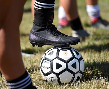 Harold Aughton/Butler Eagle: Soccer Camp Renfrew, July 15, 2020.