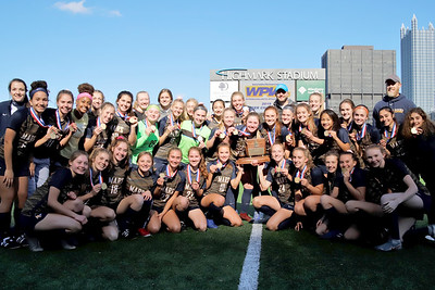 Mars girls scoccer 2019 WPIAL AAA Champions. Seb Foltz/Butler Eagle PHOTO FOR FACEBOOK,NOT FOR PRINT