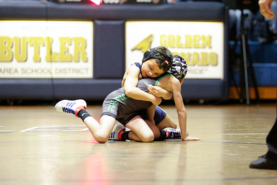 Butler vs Pine Richland Wrestling