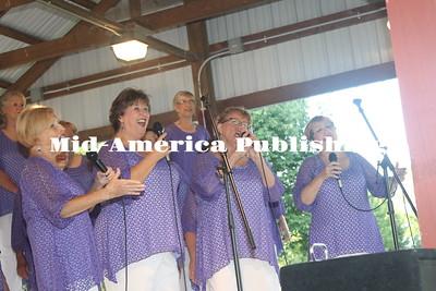 Concert Series at Wilder Park, Allison, Iowa