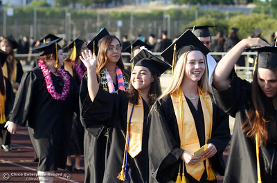 during the commencement ceremony for the Butte College Class of 2016 May 27, 2016 at Butte College in Oroville, Calif. (Emily Bertolino -- Enterprise-Record)