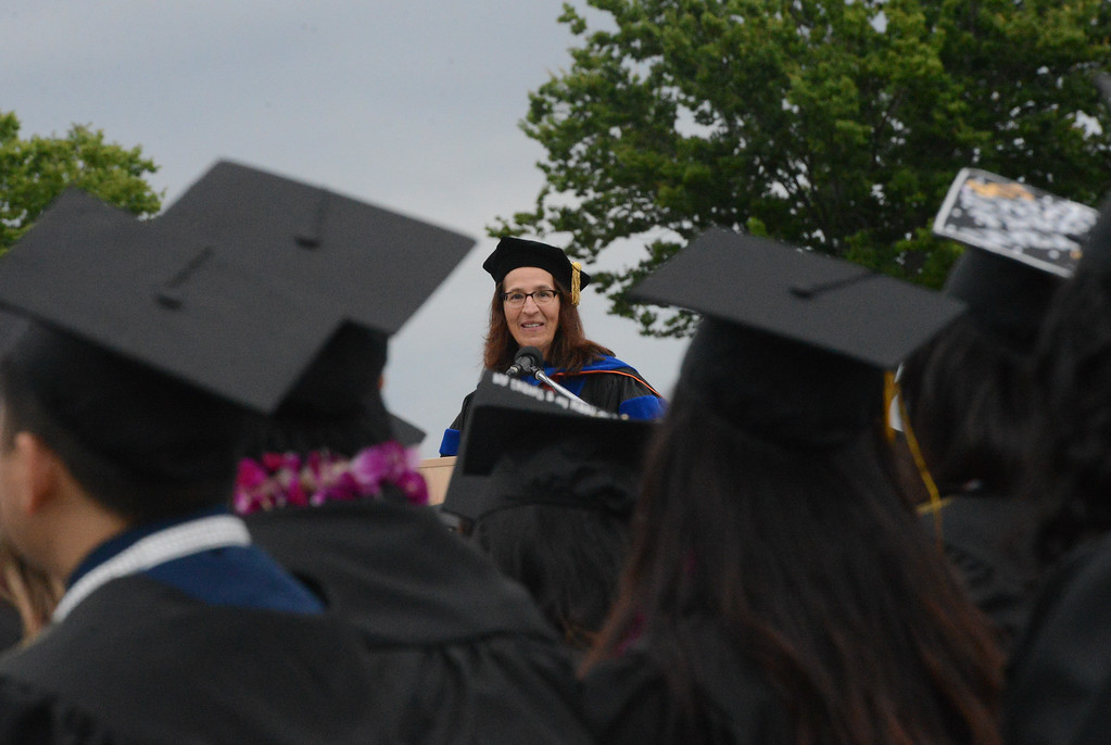 . Butte College Graduation, May 25, 2018,  in Chico, California. (Carin Dorghalli -- Enterprise-Record)