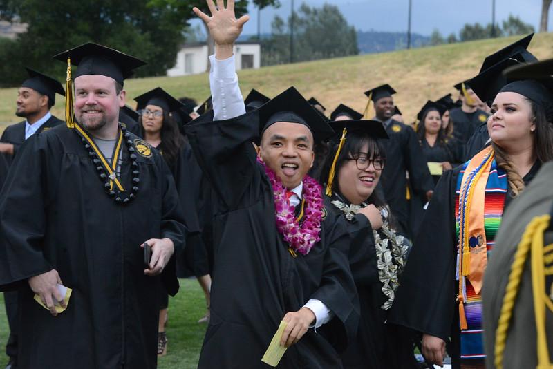 Butte College Graduation, May 25, 2018,  in Chico, California. (Carin Dorghalli -- Enterprise-Record)