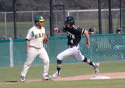 Napa Valley College at Butte College men's baseball Monday February 27, 2017 at Butte College in Oroville, California. (Emily Bertolino -- Enterprise-Record)