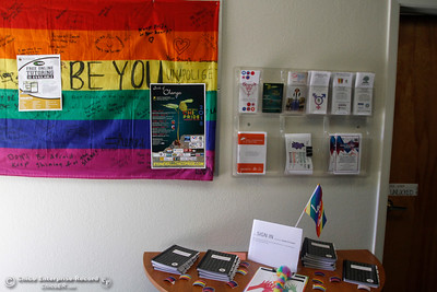 The Queer Resource Center opens for the first time on the first day of school Monday, Aug. 20, 2018, at Butte College in Butte Valley, California. (Dan Reidel -- Enterprise-Record)