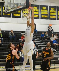 Butte College men's basketball hosts Columbia College December 30, 2017 in Butte Valley, California. (Emily Bertolino -- Enterprise-Record)