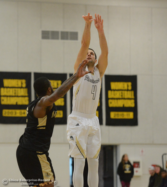 . Butte College men\'s basketball defeats College of Marin Tuesday November 28, 2017 at Butte College in Butte Valley, California. (Emily Bertolino -- Enterprise-Record)