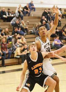 Butte College plays Lassen men's basketball February 15, 2017 at Butte College in Oroville, California. (Emily Bertolino -- Enterprise-Record)