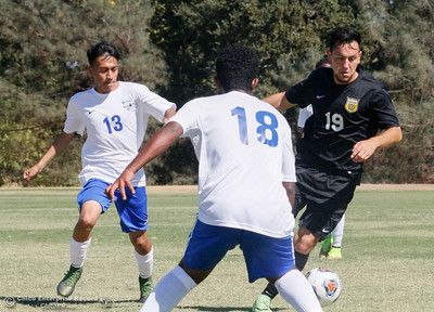 Merritt at Butte College men's soccer Monday September 19, 2016 at Butte College in Oroville, Calif. (Emily Bertolino -- Enterprise-Record)