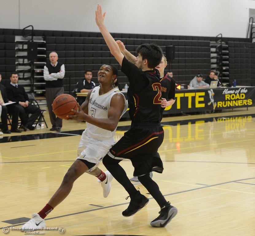 . Butte College men\'s and women\'s basketball hosts Redwoods Thursday January 11, 2018 in Butte Valley, California.  (Emily Bertolino -- Enterprise-Record)