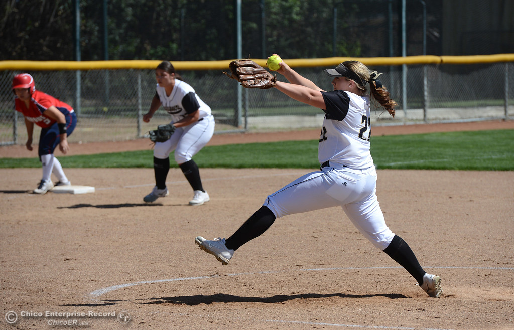 . The Butte College Roadrunners play College of the Siskiyous in the first half of a doubleheader Friday, March 31, 2017, in Butte Valley, California. (Dan Reidel -- Enterprise-Record)