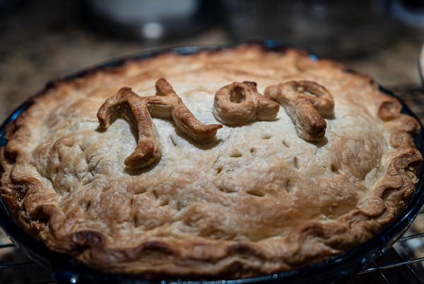 Butter crust apple pie