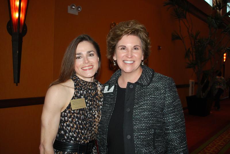Vicki Vasser and Shelle Summers