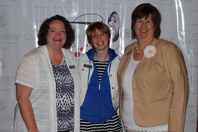 Sarah Baum, Jaclyn Williams, Becky Shaffer1