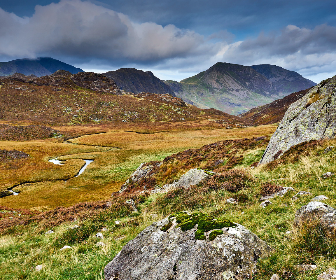 Early morning over Pillar, Haystacks and High Stile