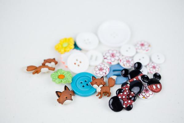 Button Bookmark Craft-6579