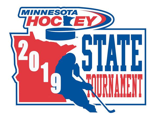 2018 MN Hockey State Tournament logo-whitestroke