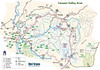 This map shows many of the trails in Tucker County, WV. The upload is large, so you can get good detail by viewing it in the original size.
