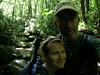 Creekyoneering up Moore Run in Otter Creek Wilderness, WV