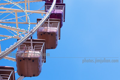 Ferris Wheel from the Side
