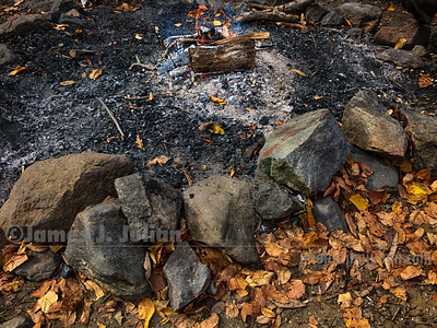 Fading Campfire
