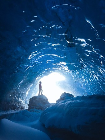 Ice Cave- Shot on iPhone