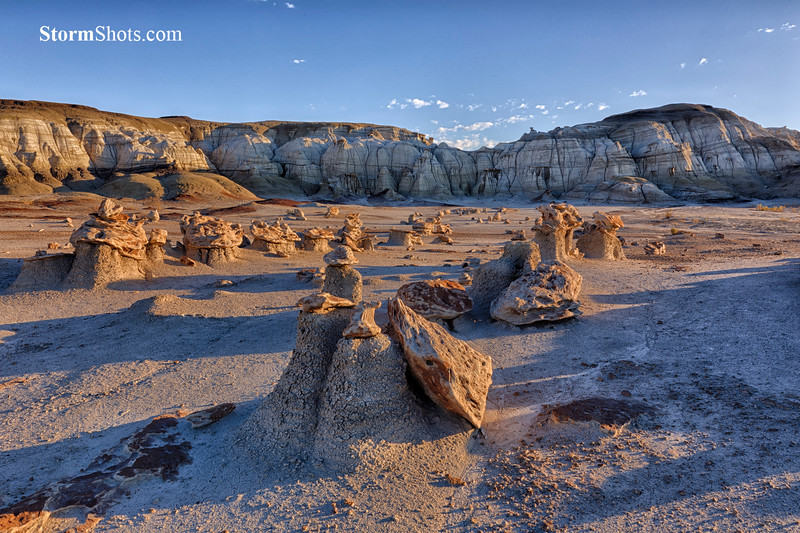 Bisti Badlands - Alien Eggs Moonscape - New Mexico